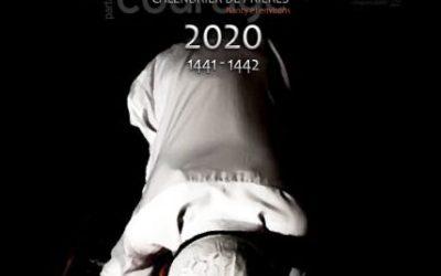 Le calendrier des prières 2020